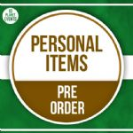 12th May Signing - Personal Items - Pre Order